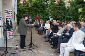 """La lucha de la Asociación de Amigos de Aleixandre por salvar la """"Casa de laPoesía"""""""