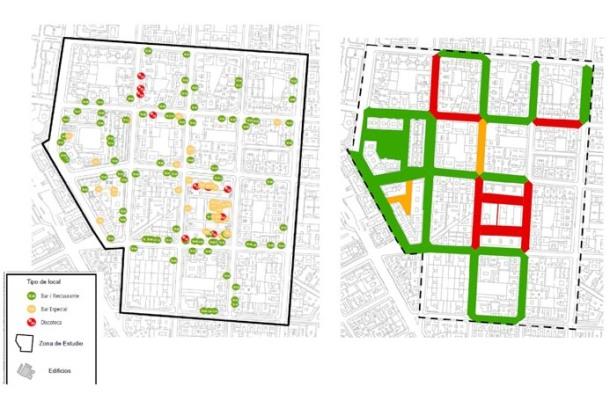 ZPAE Gaztambide Mapa