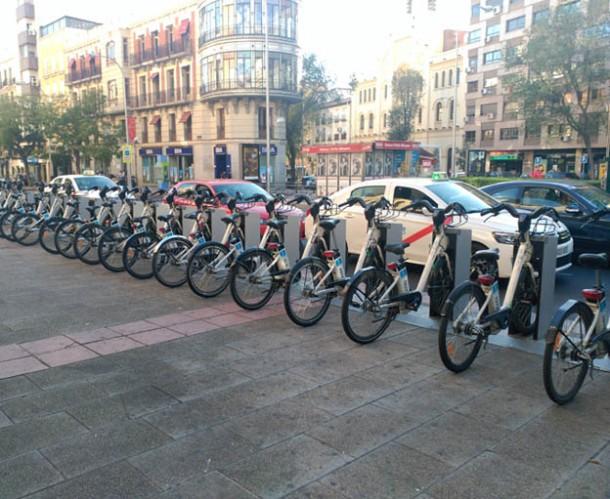 BiciMad Chamberi