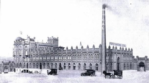 Fabrica Gal 1 Entredosamores La Esfera 1917