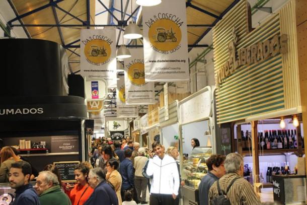 Zona Productores Mercado Vallehermoso Foto ReinaUva