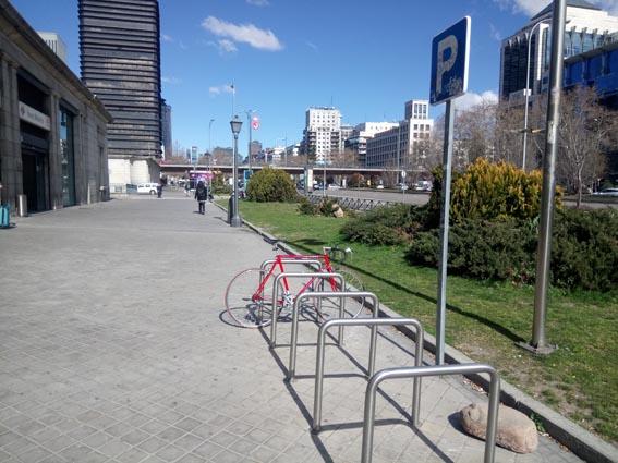 Carril Bici Castellana
