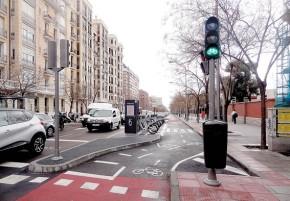 El Ayuntamiento blinda el carril bici y ya piensa en suampliación