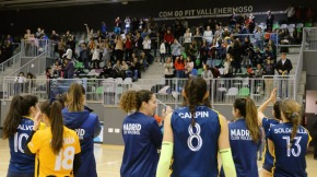 "Voleibol Madrid se la juega en el ""fortín"" deVallehermoso"