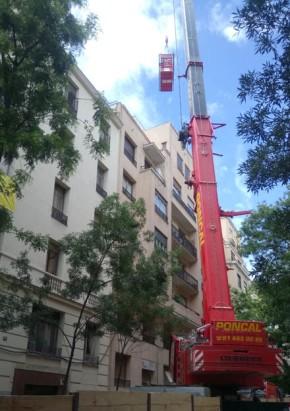 Comienza la demolición del edificio de MartínezCampos