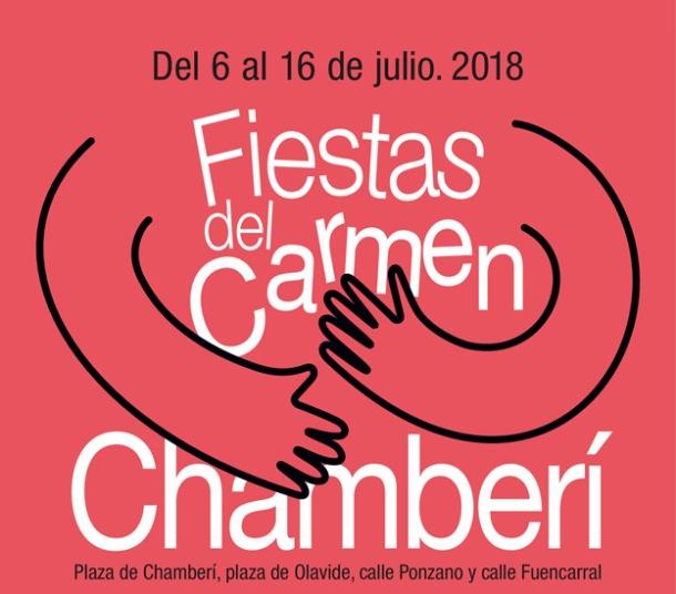 Cartel Fiestas Chamberi 18