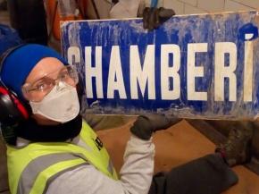 El Andén Cero de Chamberí se limpia el hollín y lashumedades