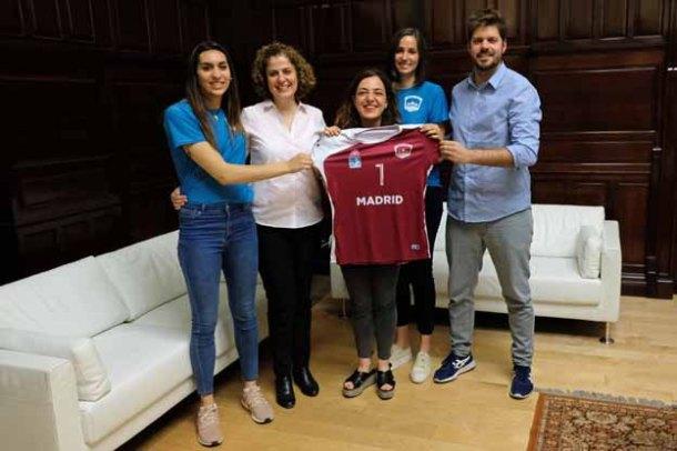 Voleibol Madrid acuerdo Ayuntamiento