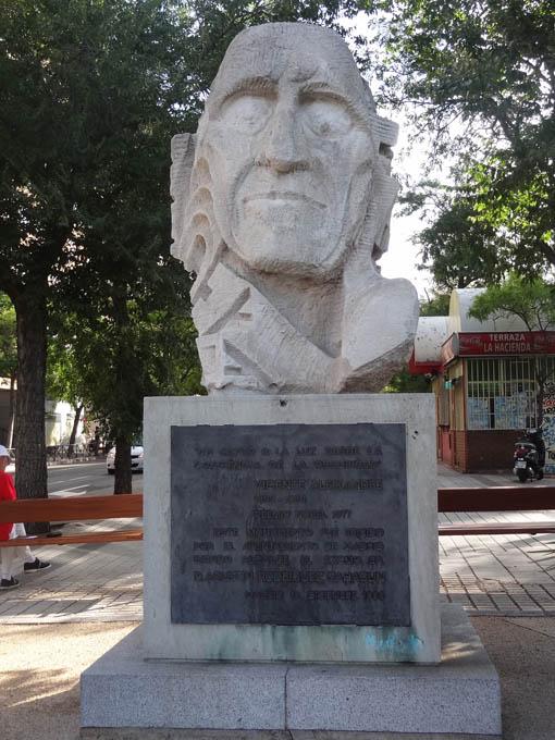 Escultura Vicente Aleixandre