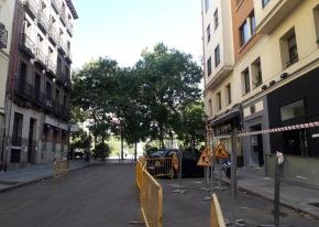 Las obras en Olavide afectarán a seis calles y durarán cincomeses