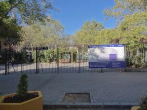 Un circuito infantil para bicis en los Jardines José LuisSampedro