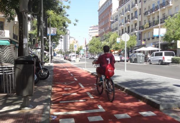 carril bici movilidad