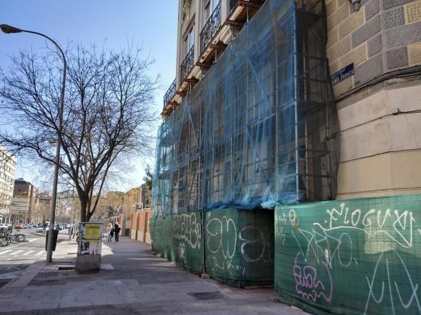 Esquina de las calles Santa Engracia y Ríos Rosas.