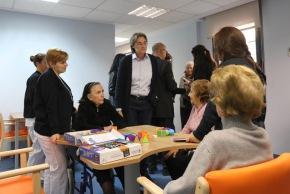 El Centro Mª Teresa León abre con 45 plazas para personas con deteriorocognitivo