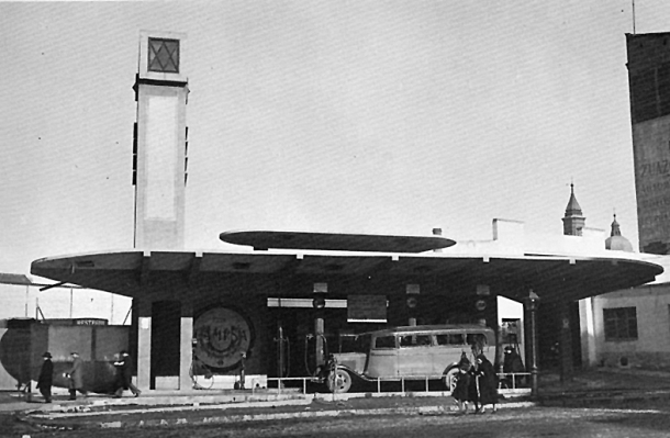 Gasolinera 1958