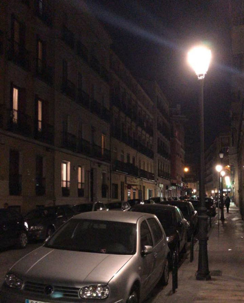 Iluminacion calle Eguilaz