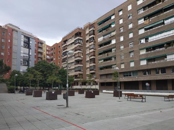 Plaza del Teniente Alcalde Pérez Pillado