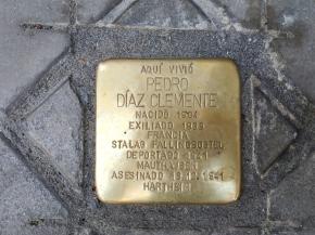 Madrid recuerda a 450 víctimas del nazismo con placasconmemorativas
